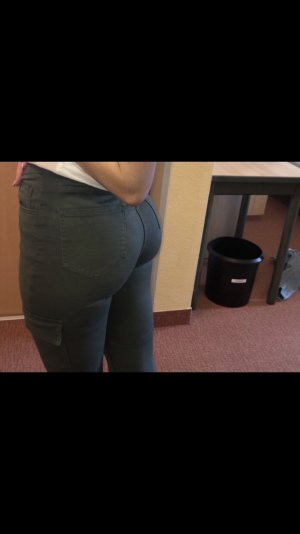 Asos High Waist Jeans khaki