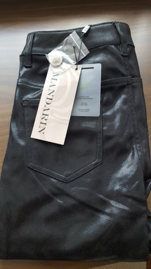 Jeans in Lederoptik/Wachsoptik Neu