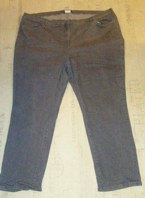 Stretch jeans grijs-donkergrijs Gemengd weefsel