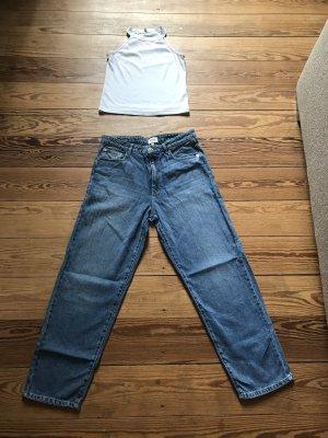 Only Jeans a zampa d'elefante azzurro