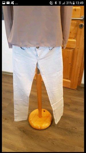 Jeans in nudefarben top