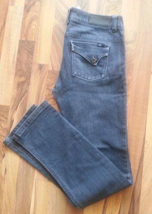 Jeans in schwarz, verwaschene Optik, von Only