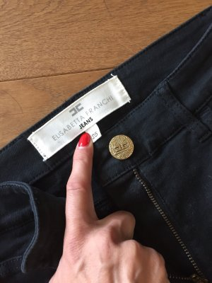 Elisabetta Franchi High Waist Trousers black