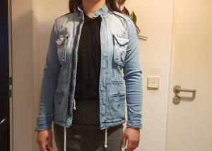 Big Star Denim Jacket white-azure