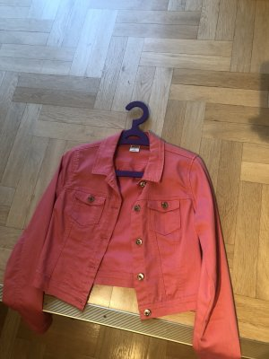 Only Denim Blazer neon orange