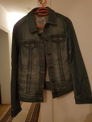 Esprit Veste en jean bleu fluo