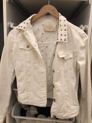Zara Veste en jean blanc