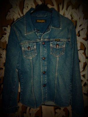 Denim Blazer dark blue cotton