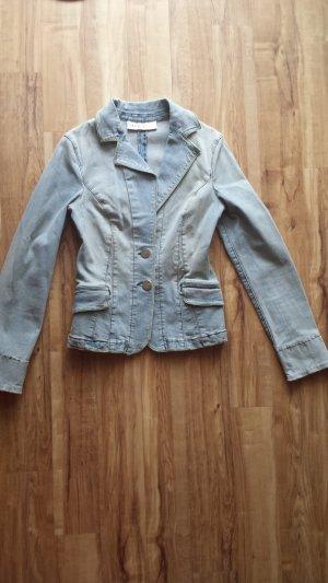 Mango Jeans Blazer en jean bleu azur-bleuet