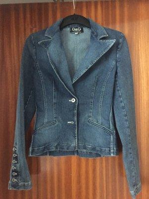 Dolce & Gabbana Denim Jacket neon blue