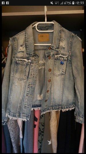 jeans jacke gr. xs