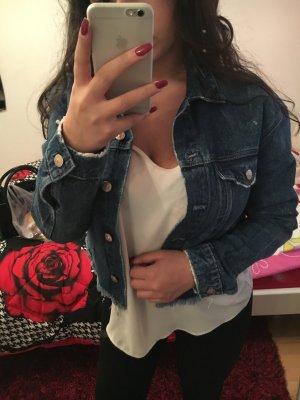 Jeans Jacke (Größe 38)