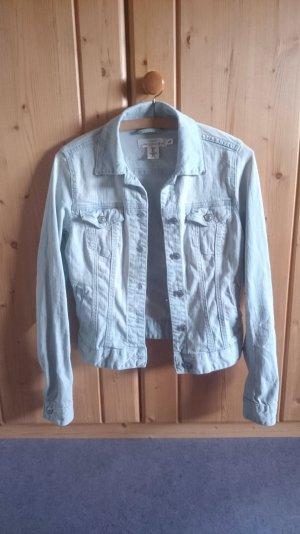 Jeans Jacke hellblau blassblau 34 XS