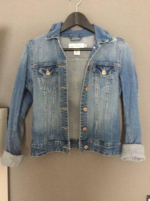Jeans Jacke im Usedlook