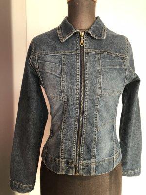 Jeans Jacke Jeansjacke Gr 36 38 S