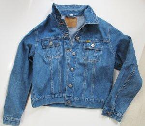 Jeans Jacke John Baner Größe M 40 Blue Blau Denim Klassisch Western Blouson Kurzjacke Flieger