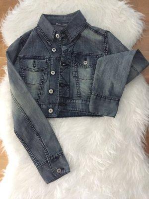 Jeans-Jacke kurz - :)