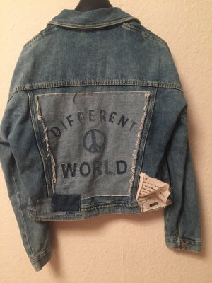 Jeans Jacke mit patches