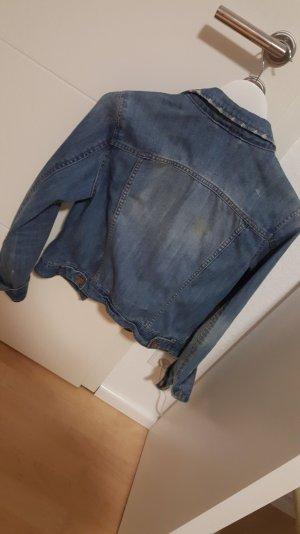 Jeans Jacke mit Taschen