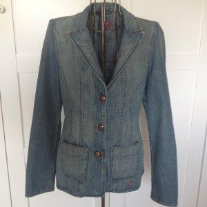 Jeans Jacke Mustang Gr. M, blau mit großen Knöpfen