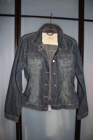 Jeans Jacke tailliert Gr.40-42