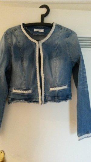 Jeans Jacke, taillierter Schnitt