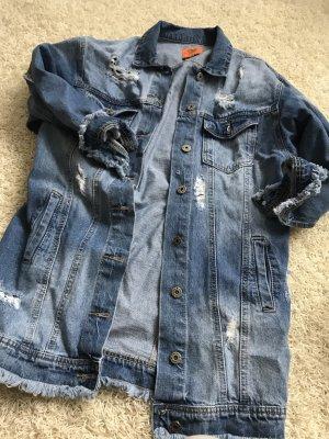 Jeans Jacke Used Look