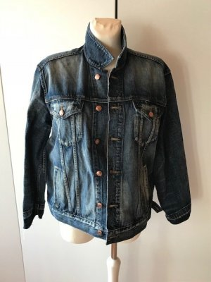 Jeans Jacke used look retro Point SUR USA oversized