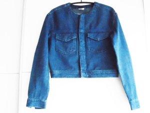 H&M Blazer en jean bleu coton