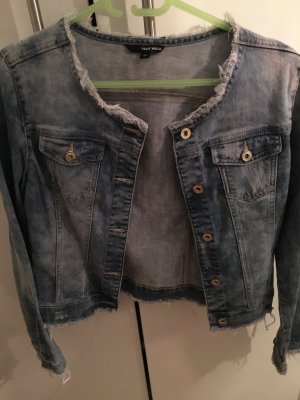 Tally Weijl Denim Blazer azure cotton