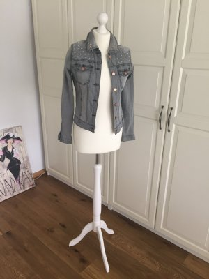 Jeans Jacke von Vero Moda XS grau