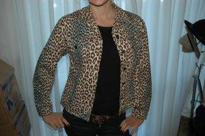 Jeans Jacket Gr 40 mit Animalprint