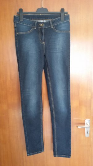 Blue Motion Jeggings dark blue cotton