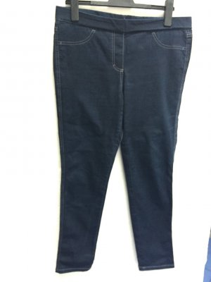 Jeans Jeggings Gr. 42 (44 plus Einsatz) VIA APPIA