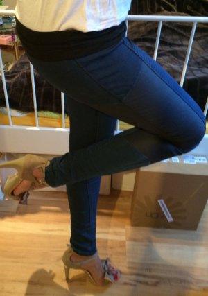 Jeans jeggins 34 xs blau Materialmix