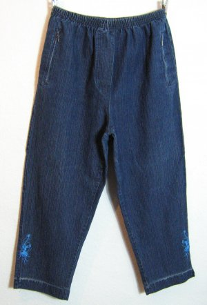 Jeggings azul Algodón
