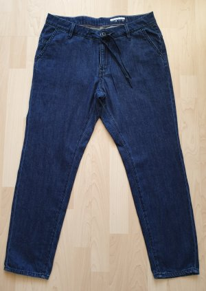 Esprit Boyfriend Jeans dark blue cotton