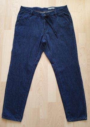 edc by Esprit Jeans a 7/8 blu scuro Cotone