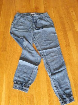Amisu Pantalon large bleu