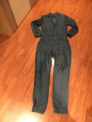 Jeans Jumpsuit aus Lyocell