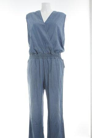 Jeans Jumpsuit hellblau Jeans-Optik