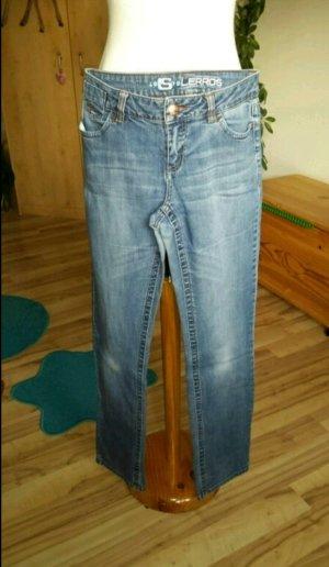 Jeans jused optik hellblau