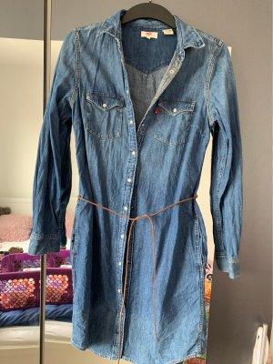 Levi's Vestido vaquero azul
