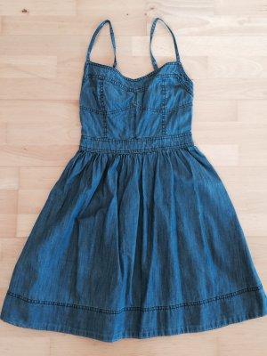 Jeans Kleid Amisu Gr. 34 denim Look