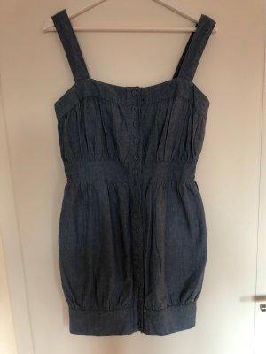 QED London Denim Dress slate-gray