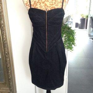 Jeans Kleid H&M dunkelblau Gr 40 L