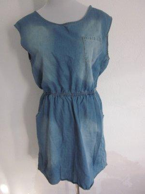 Jeans Kleid hellblau Gr L