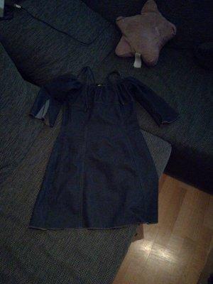 Jeans Kleid mit dreiviertel Ärmeln