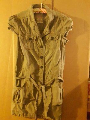 Jeans Kleid mit Knöpfen im Vordeteil in Größe M von Soccx