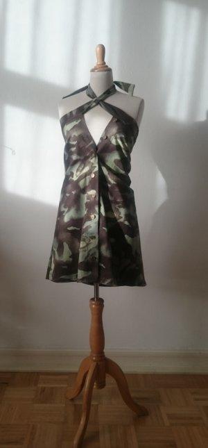 Jeans-Kleid/Rock, camouflage-- Größe XS